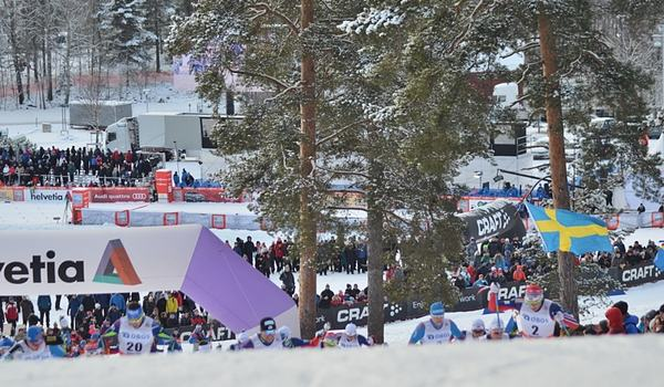 Ulricehamn och Falun (bilden) blir världscuporter i Sverige 2021. FOTO: Johan Trygg/Längd.se.