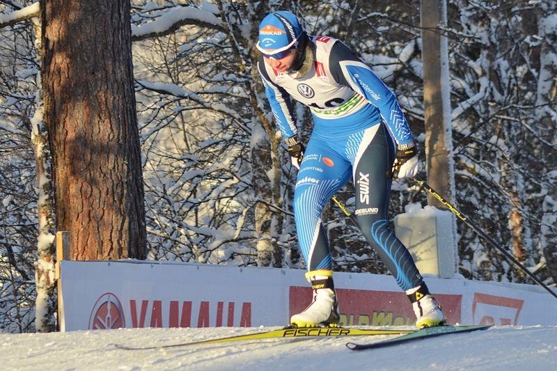 Hudiksvallsåkaren Evelina Settlin tog en fin fjärdeplats vid Skandinaviska cupen i Otepää. FOTO: Johan Trygg/Längd.se.