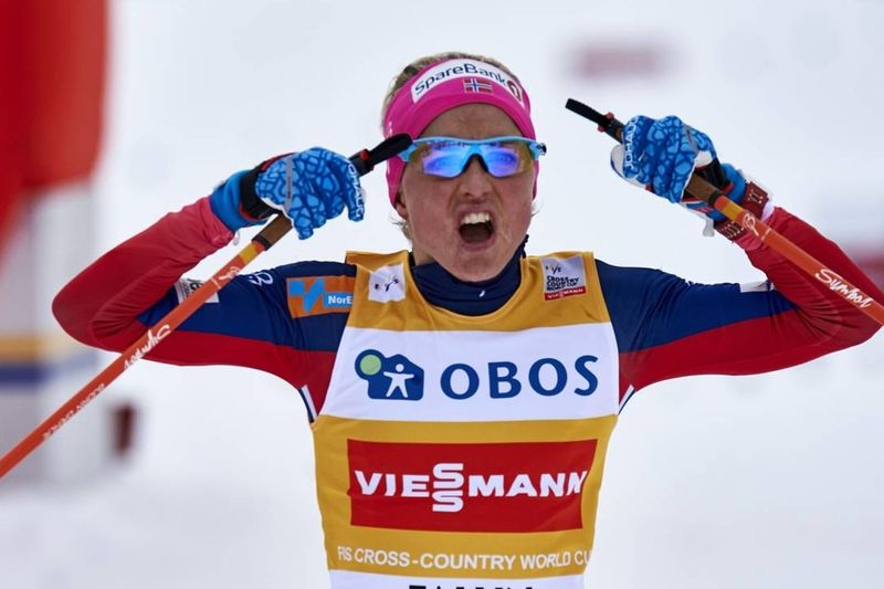 Therese Johaug tog en ny seger och ingen är förvånad. FOTO: NordicFocus.