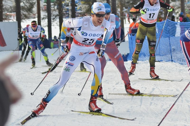 Marcus Hellner och ytterligare fem herrar och åtta damer bildar den svenska truppen till Ski Tour Canada. FOTO: Johan Trygg/Längd.se.