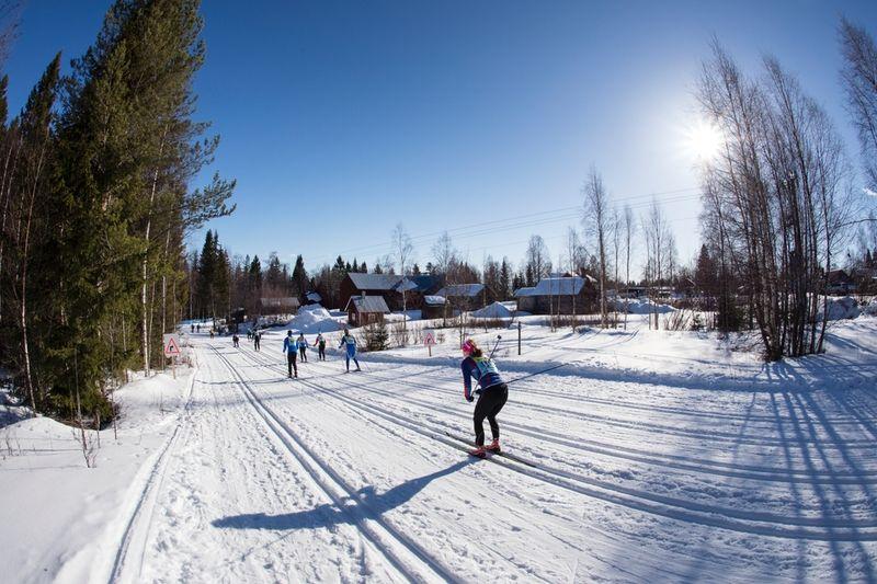 Skånes län har fler deltagare anmälda till Vasaloppet än hemmalänet Dalarna. FOTO: Vasaloppet.