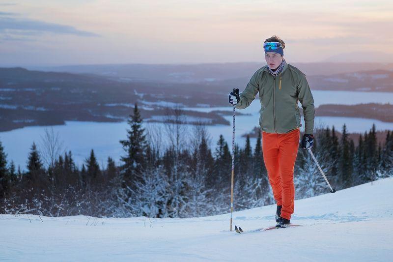 Längd.se har testat nya spännande längdkläder från nya svenska märket Sweare. FOTO: Sweare.