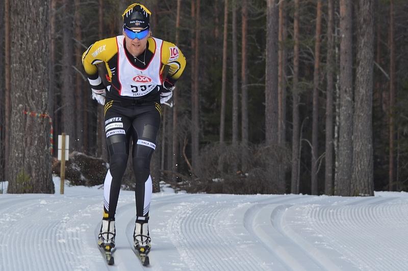 Jens Eriksson gjorde en imponerade comeback efter skadan när han var först i mål på Halvvasan 2016 och sedan blev 31:a på Vasaloppet samma år. FOTO: Johan Trygg/Längd.se.