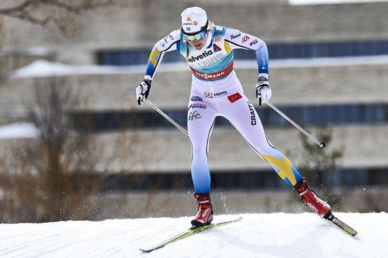 Stina Nilsson startade Ski Tour Canada med en andraplats på sprinten i Gatineau. FOTO: Felgenhauer/NordicFocus.