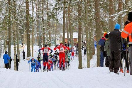 Rallarloppet genomförs på reservdatum 13 mars, mitt emellan Bottnaryd och Hallbystugan. FOTO: Rallarloppet.