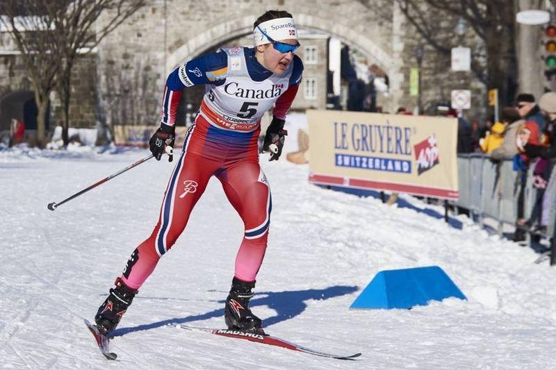 Ingvild Flugstad Östberg slog till med ett kanonlopp i Canmore och vann 23 sekunder före Heidi Weng. FOTO: Felgenhauer/NordicFocus.