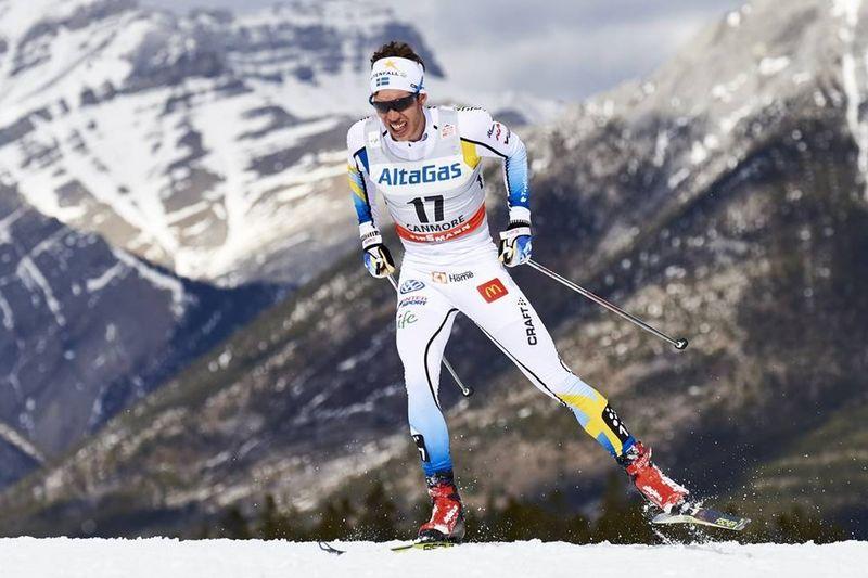 Marcus Hellner är tillbaka i världstoppen på allvar efter tredjeplatsen i Canmore. FOTO: Felgenhauer/NordicFocus.