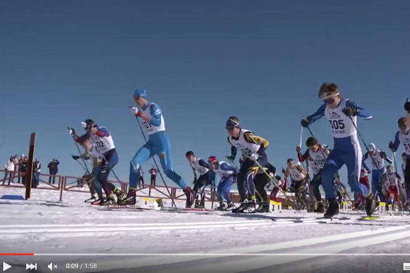 Kolla in filmen från JSM skiathlon H 17-18. FOTO: Video SK Bore/JSM Torsby.