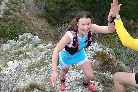 Moa Lundgren på förra årets Salomon Running Academy. Nu kan man ansöka om att vara med på årets upplaga 25-29 maj.