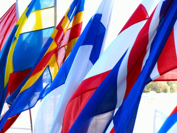 Nordens flagg (Foto: Foreningen Norden)