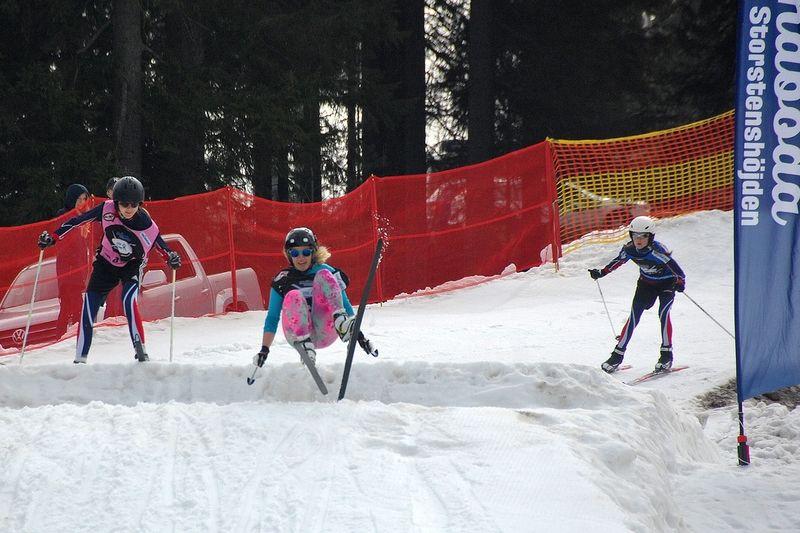På lördag är det dags för femte upplagan av STH Skicross Competition vid Ånnaboda - Storstenshöjden. FOTO: STH Skicross Competition.