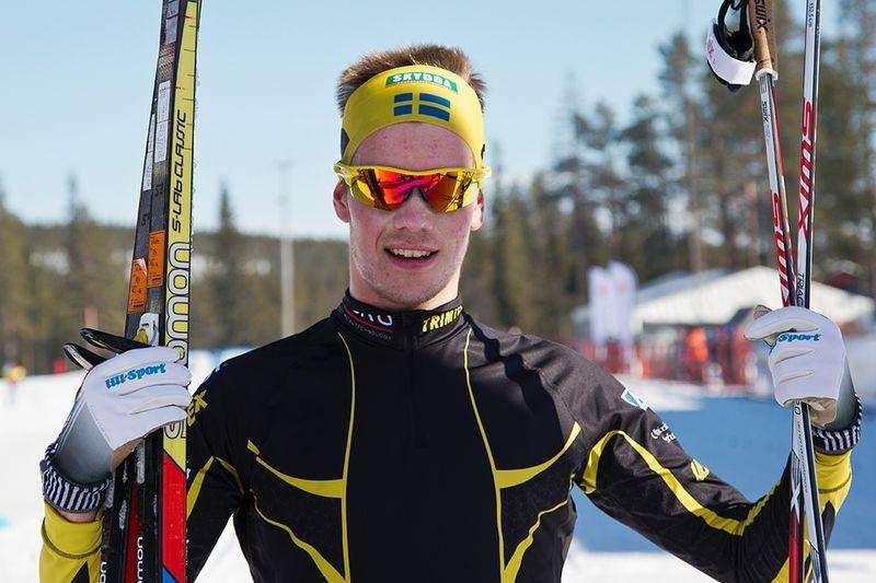 Viktor Thorn vann Scandic Cup-finalens jaktstart i stor stil och blev också totalsegrare. FOTO: Michael Renström, Imega Promotion.