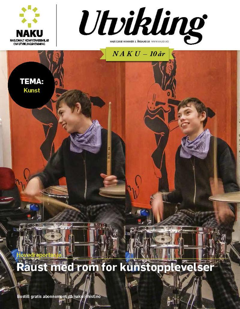 Bilde av forsiden på bladet Utvikling