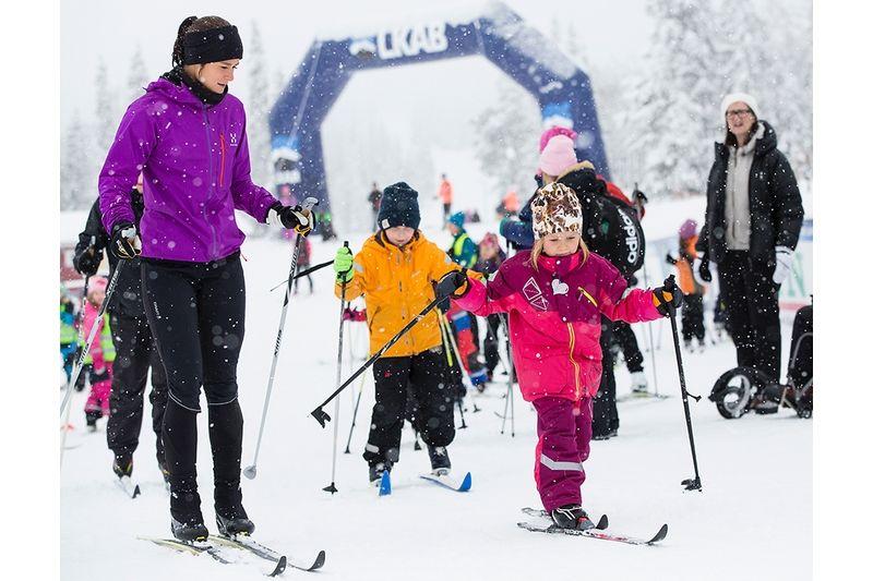 1100 barn och ungdomar har varit med under Skolornas Dundret Runt. FOTO: Imega Promotion.