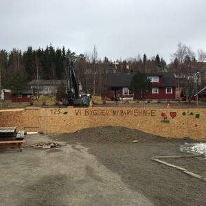 Vi bygger barnehage