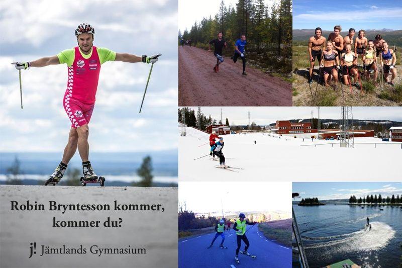 Idrottsprogrammet Vintersport i Östersund erbjuder sommarläger om man är född 2001-2003. Lägret kommer att gästas av Robin Bryntesson.