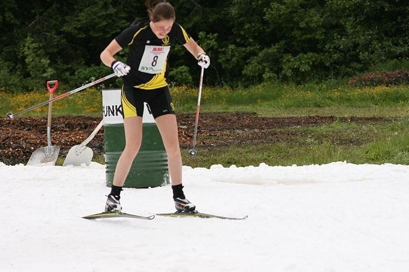 Under tio år har Sya SK arrangerat Midsommarsprinten på snö. I sommar blir det ett nytt arrangemang på snö - Nationaldagssprinten i centrala Mjölby. FOTO: Sya SK.