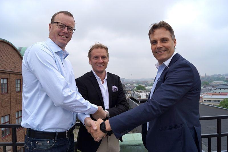 Ett nytt svenskt långloppsteam är på gång där denna trio är högst involverad. Magnus Johnson, VD Staxered Invest, teamchef Martin Holmstrand och Ola Serneke, VD Serneke Group.