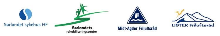 Logoer til arrangører av Uterehabiliteringskonferansen 2016