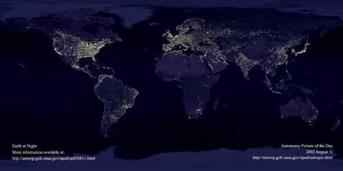 Jorda om natten