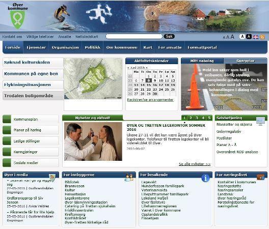 Hjemmesiden