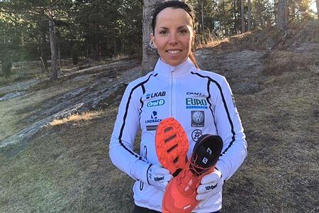 Längd.se har testat Charlotte Kallas favoritsko för barmarksträningen - Salomon S-Lab Sense 5 Ultra SG. FOTO: Salomon.