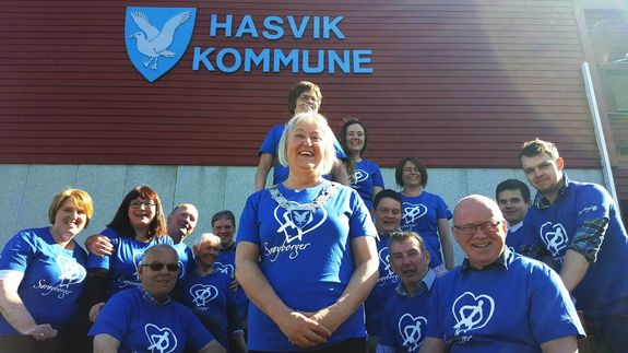 Hasvik kommunestyre fattet et historisk vedtak 16.06.16 (foto: Gro M. Nilssen)