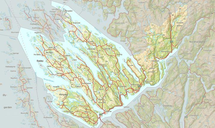Kart 3 K kommunene