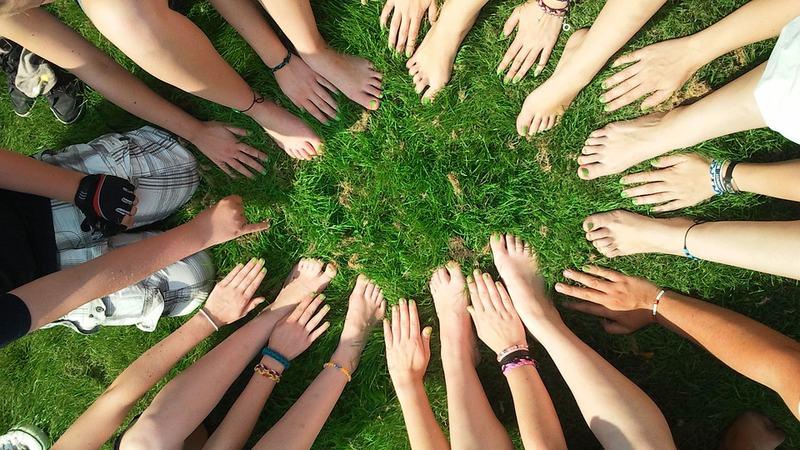 Sammen føtter hender Pixabay