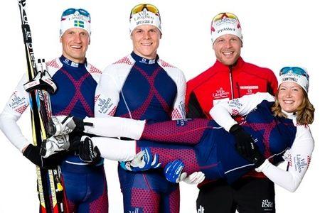 Laila Kveli förstärker Team Tynell och åker i vinter där tillsammans med sambon Jerry Ahrlin och Rikard Tynell och med Daniel Tynell som teamchef. FOTO: Team Tynell.