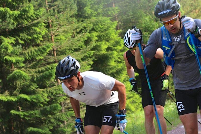Markus Johansson och Fredrik Byström är två av Lager 157 Ski Teams åkare som åker sex mil långa Blink Classics i Norge på onsdag. FOTO: Lager 157 Ski Team.