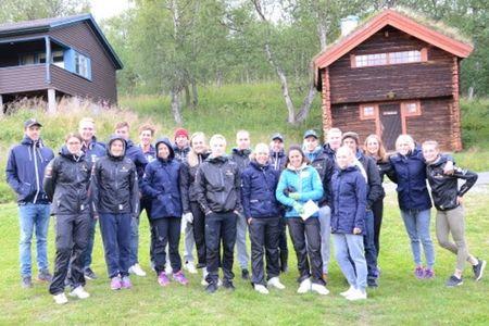 Landslaget har precis avslutat en lägervecka i Vålådalen. FOTO: Vålådalens Fjällstation.