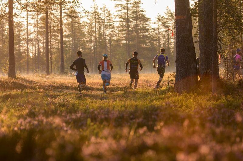 7000 löpare från drygt 20 olika nationer springer Ultravasan och Vasastafetten mellan Sälen och Mora i helgen. FOTO: Vasaloppet.