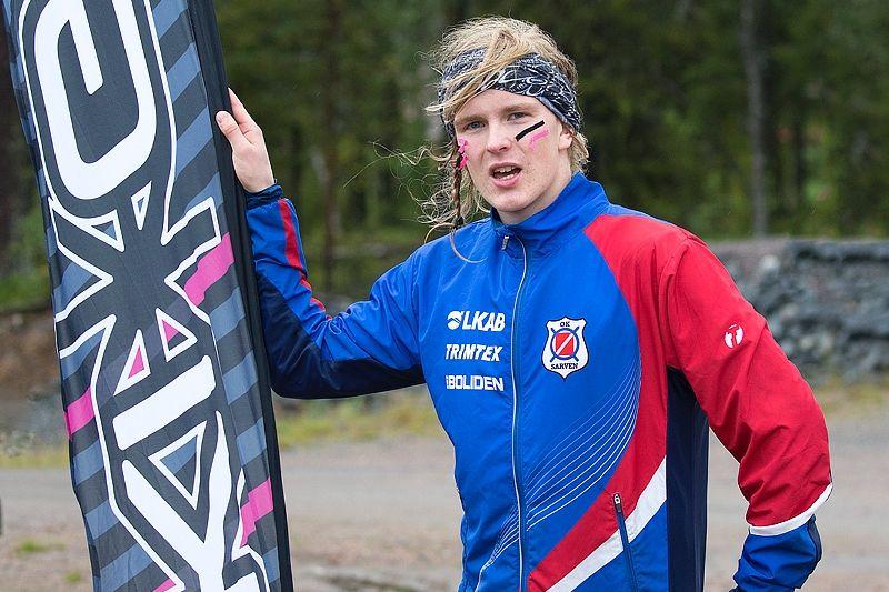 Edvin Murto sprang ifrån Marcus Hellner och vann Dundret Extreme Running. FOTO: Yngve Johansson, Imega Promotion.