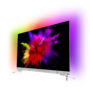 Philips OLED 901 F Side view with screenfill