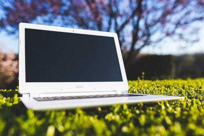PC jobbe utendørs