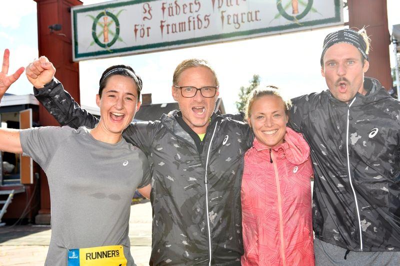 2017 blir det premiär för Vasaloppets sommarveckas nya lopp: Vasakvartetten, en löparstafett för fyramannalag. FOTO: Vasaloppet/Nisse Schmidt.