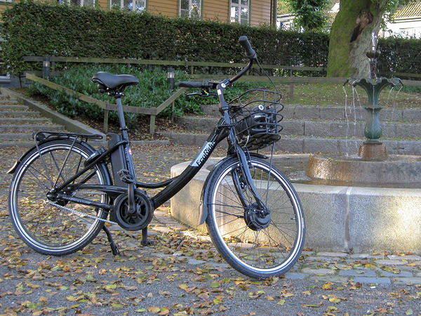 Elsykkel i Egersund