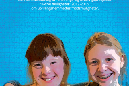 Omslagsbilde til brosjyren om Aktive muligheter