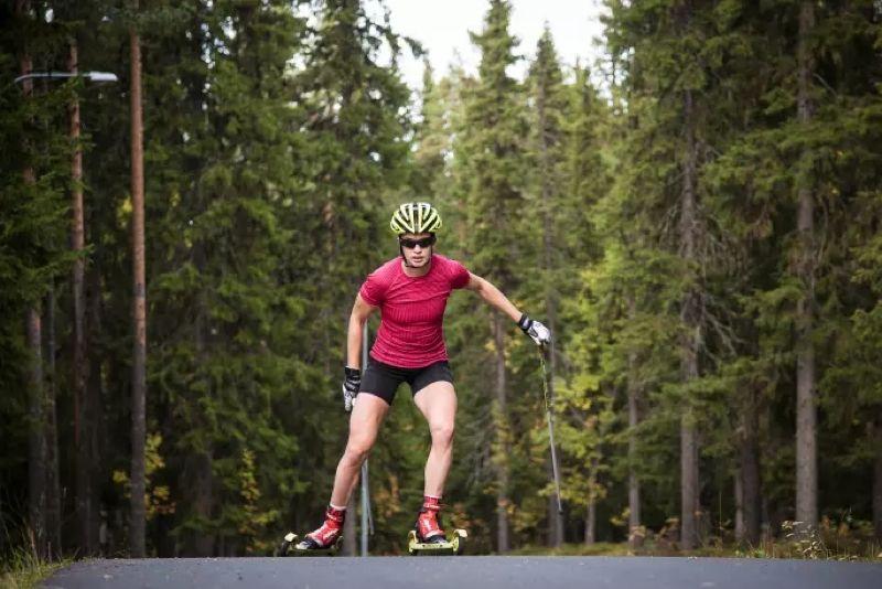 Sofia Henriksson siktar mot favoritdistansen 10 kilometer klassiskt på VM i Lahtis i vinter. FOTO: Craft.