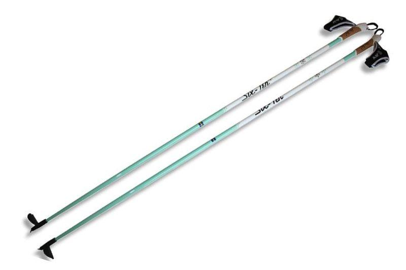 Längd.se har testat stavar från Six-Ten Ski Products. Här toppstaven UHM Carbon som används av bland andra Bob Impola. FOTO: Six-Ten Ski Products.