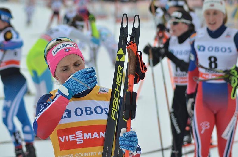 Therese Johaug meddelar i ett pressmeddelande att hon tar avstängningen hårt. FOTO: Johan Trygg/Längd.se.