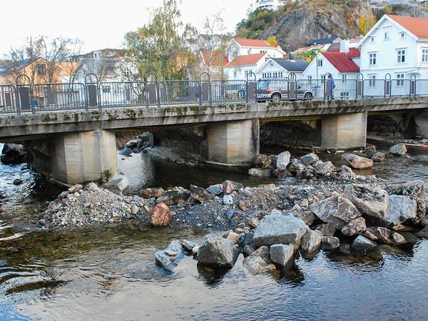 Renovering av Damsgård bru