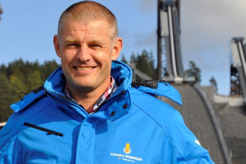 Jimmy Birklin, ny VD för Svenska skidspelen, signalerar för ett nytänkande när det gäller skidfesten i Falun. FOTO: Svenska Skidspelen.