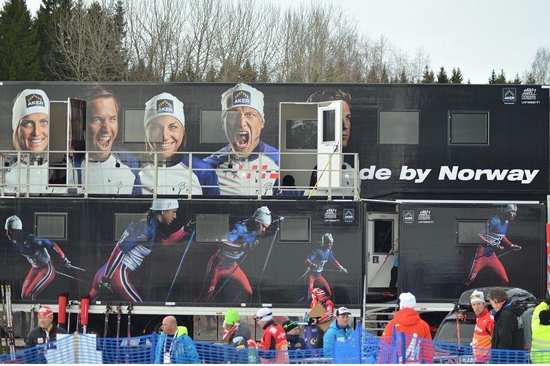 I den norska vallabussen har åkarna använt nebulisator för att ta luftrörsvidgande läkemedel och saltvattenslösning under sprinttävlingar. FOTO: Längd.se.