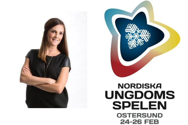 25-26 februari är det dags för Nordiska Ungdomsspelen i Östersund. En av idégivarna till evenemanget är skidprofilen Johanna Ojala.