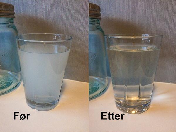 Vann med luft