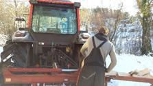 Bilde av en traktor