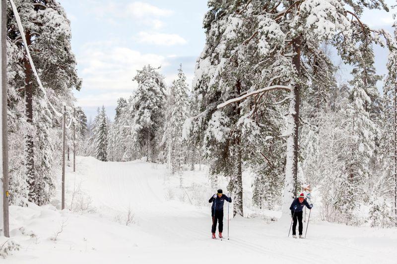 Redan idag kan Orsa Grönklitt erbjuda 30 kilometer skidspår. FOTO: Grönklittsgruppen.