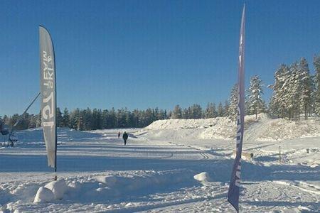 Toppenförhållanden väntar för deltagarna i Grönklittspremiären i morgon. FOTO Marcus Laggar.